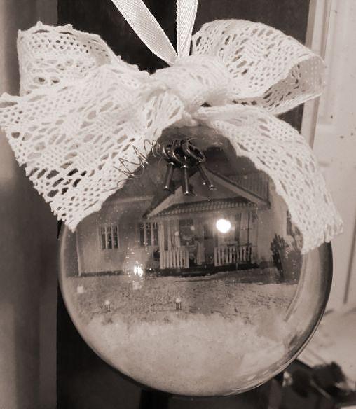 Itse tehdyt joulupallot