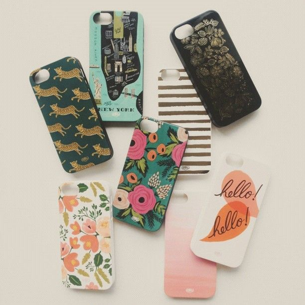 Rifle Paper Co.  iphone cases