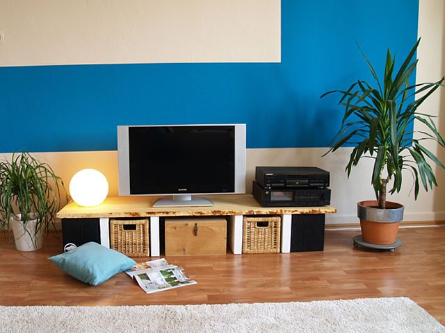 Luxury DIY Academy Rustikales TV M bel