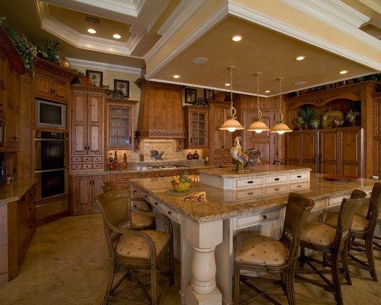 multi level kitchen island designs found on houzzcom - Multi Kitchen Ideas