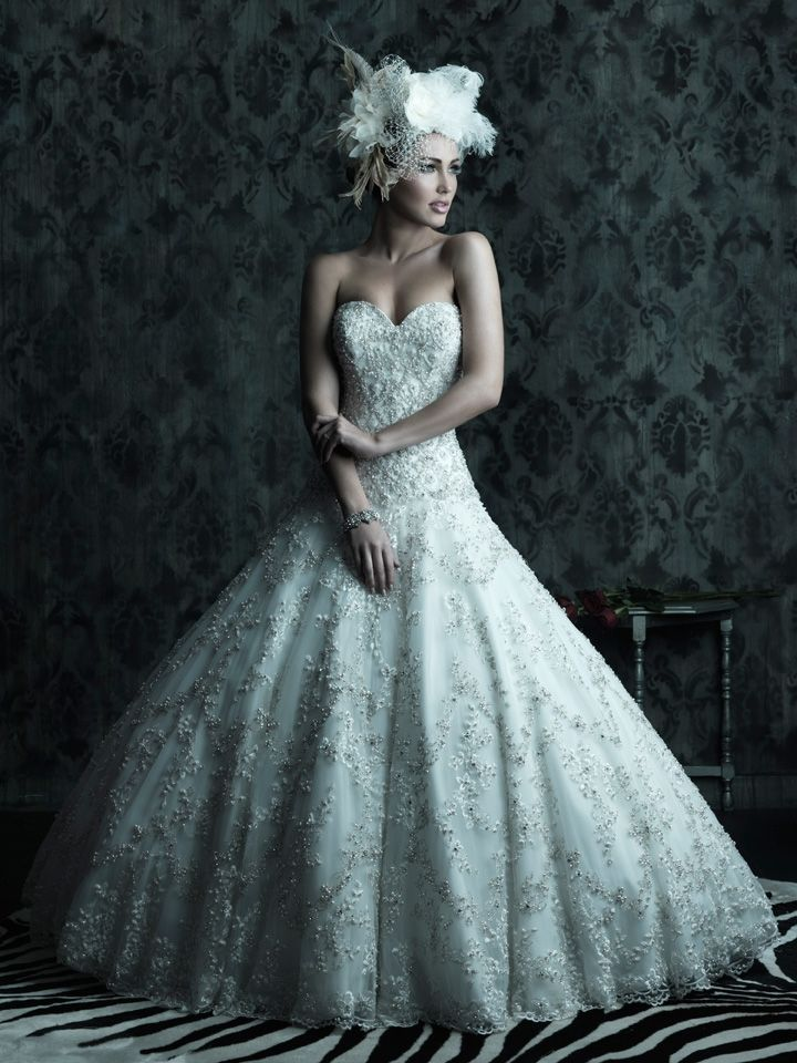 The 9 best Allure Ball Gown Wedding Dresses images on Pinterest ...