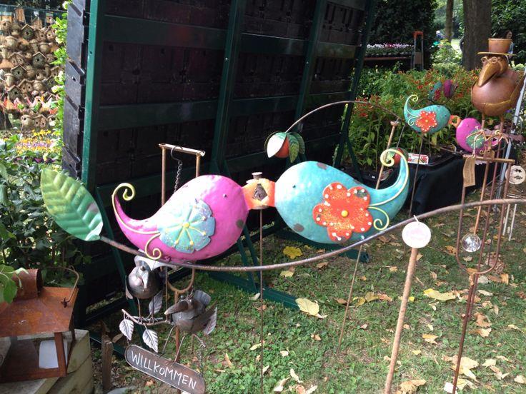 Pretty birds #orticolario