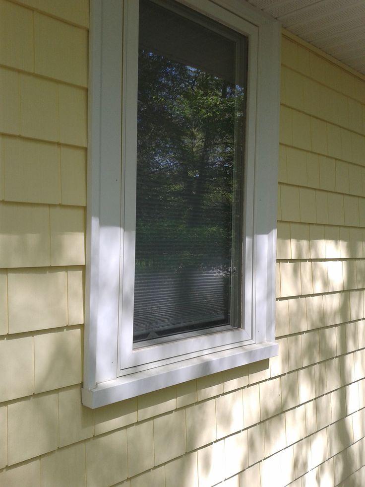 8 best idea gallery certainteed cedar impressions images - Exterior window trim vinyl siding ...