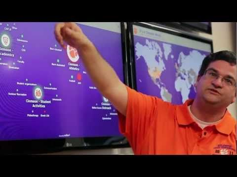 Clemson Social Media Listening Center - YouTube