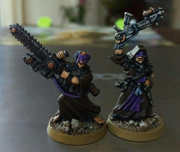 Necromunda Redemptionists (my TNT Raider Gang)