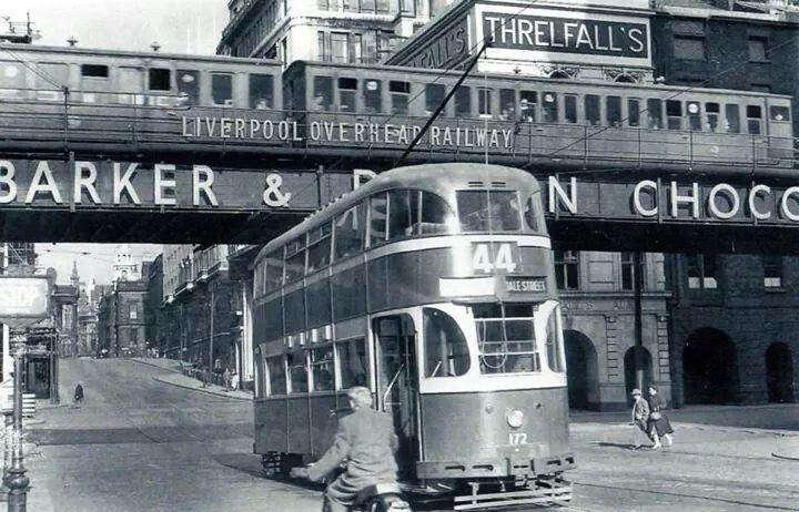 Overhead Railway, 1955