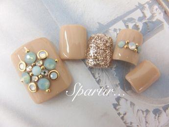 [2013 FOOT campaign] ◇ ◇ nail Dekorativu