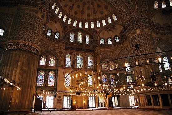not constantinople: Istanbul Turkey, Favorite Places, Blue Mosque Istanbul, Beautiful Inside, Blue Mosques Istanbul, Photo, Architecture Details, I D, Lights Blue