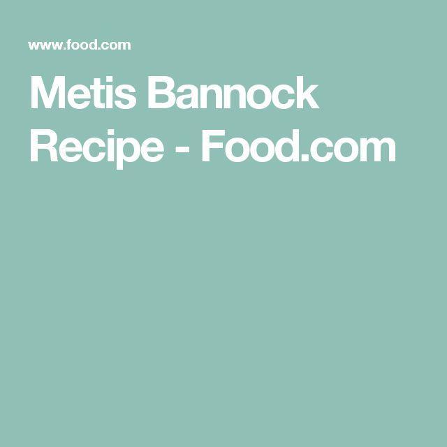 Metis Bannock Recipe - Food.com