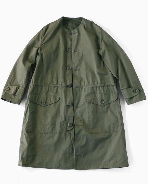 スウェーデン軍 カラーレスコート| フィフスジェネラル ストア | 中目黒