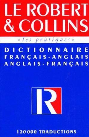 Robert Collins - Dictionnaire: Français-Anglais/Anglais-Français