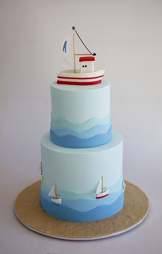 A christening cake for Alexandros