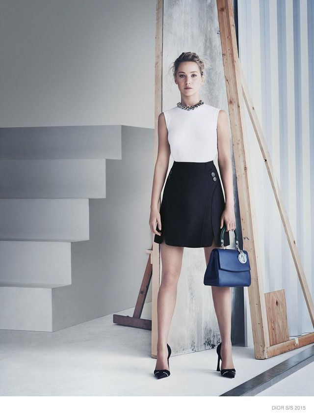 More Images of Jennifer Lawrence for Be Dior Spring  15 Ads ... 28450eedfc04f