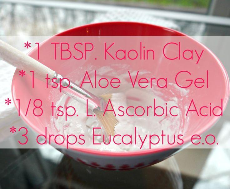 DIY Kaolin Clay & Vitamin C Mask