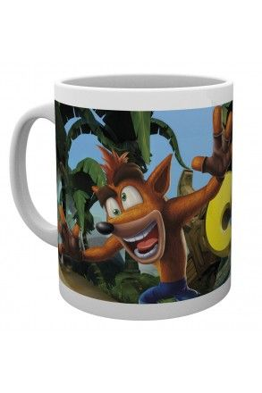 Crash Bandicoot Logo Mug