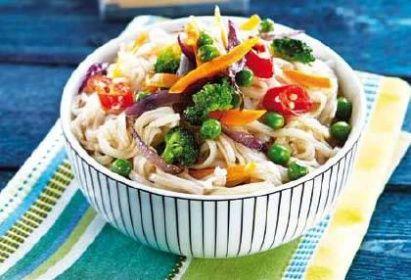 recept na thajské nudle