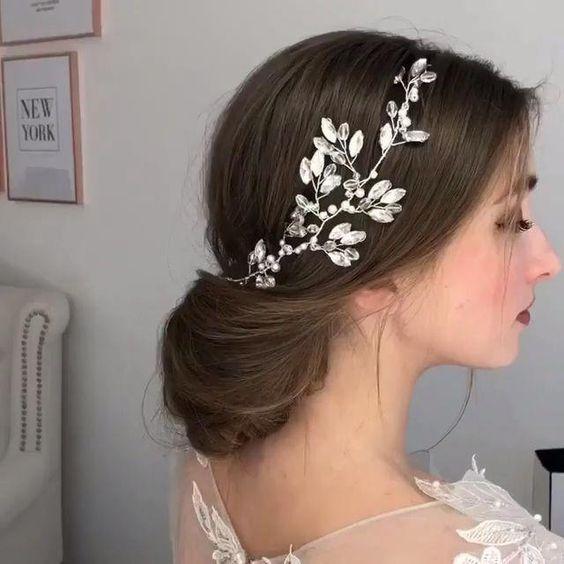 Elegant Wedding Hairstyles Charming Bridal Hairstyles Beautiful Hairstyles of the Bride Wedding Inspirations