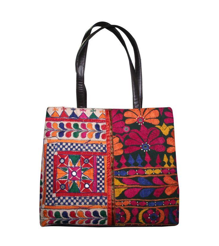 Old Vintage Banjara Bag Massanger Shoulder Bag Patchwork Banjara Boho Tote Bag  #Handmade #BeachBagEveningBagShoulderBag