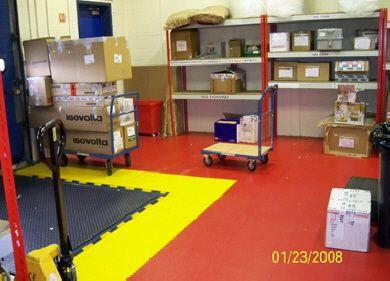 pvc werkstattboden typ industrie eco 7 500 in drei farben werkstattboden f r alle branchen. Black Bedroom Furniture Sets. Home Design Ideas