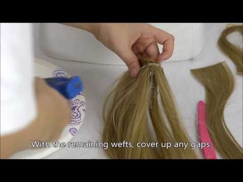 Mini Hair Clip Tutorial – YouTube