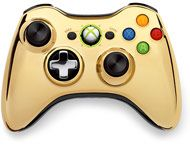 Xbox 360 Special Edition Gold Chrome Series Wireless Controller