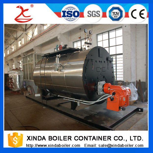 Light Diesel Oil 4900 Kw Hot Water Boiler, Natural Gas 4900 Kw Boiler Manufacturer