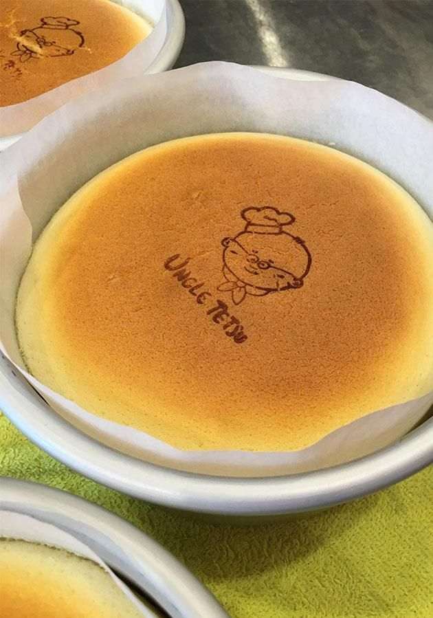 Be went behind-the-scenes at Uncle Tetsu's Sydney store to find out what all the fuss is over his famous Japanese cheesecake.