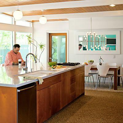 Best 56 Best Images About Mid Century Modern Kitchen On 400 x 300