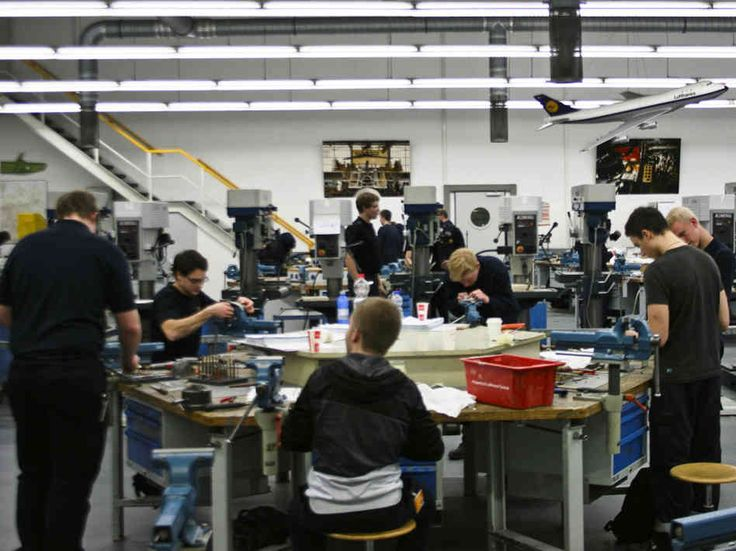 NPR - The Secret To Germany's Low Youth Unemployment - Germany's learn-on-the-job apprenticeship system