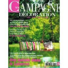 Campagne Décoration (n°9) du 07 & 08/2001 - Une balade dans le Lubéron - ... [Magazine vendu]