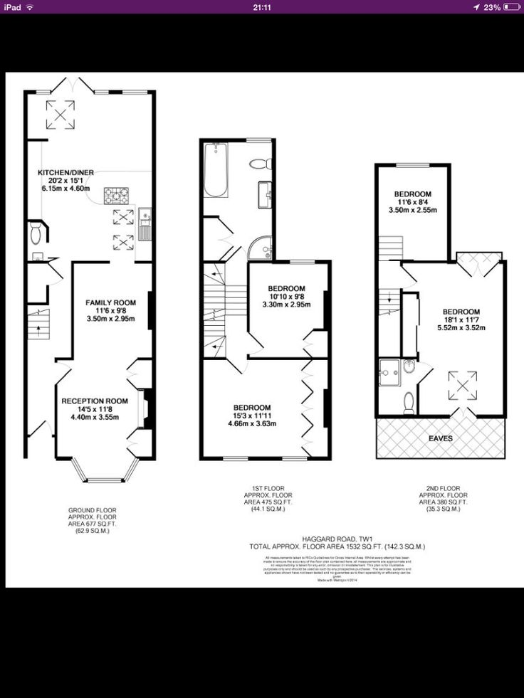 Victorian Terrace With Loft And And Back Extension Floor