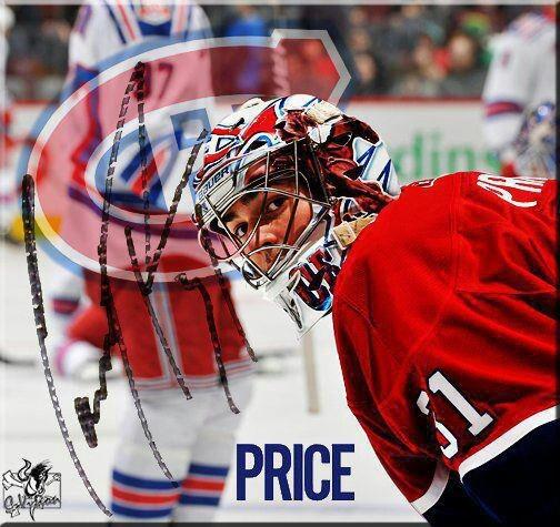 Carey Price <3<3<3