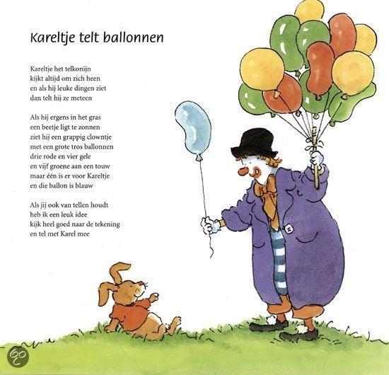 Kareltje telt ballonnen