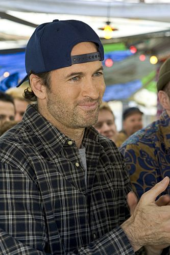 "scott patterson as ray steele - ""he's still watching soccer on tv and going bowling and fly-fishing or making furniture when he's not."" - fifty shades of grey"