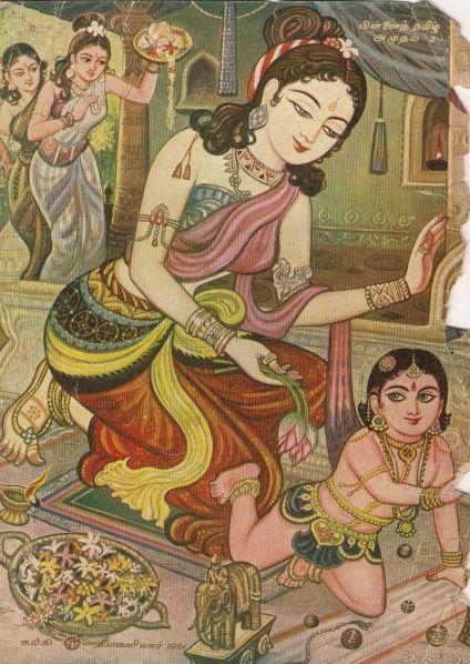 Murugan, son of Parvati and Shiva