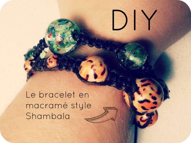 DIY : Comment réaliser le fameux bracelet Shambala