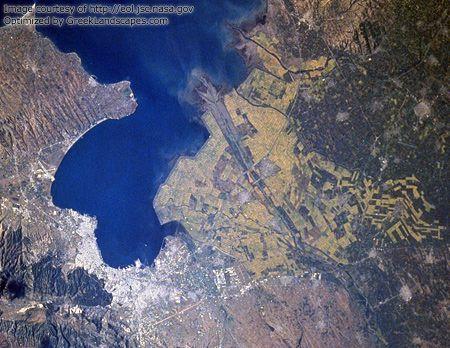 Thessaloniki Satellite image
