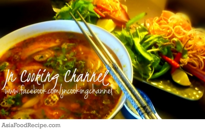 Bun Bo Hue - Vietnamese Spicy Beef Noodles! Let me take you on a culinary journey to Central Vietnam's City of Hue, where this soup originated.