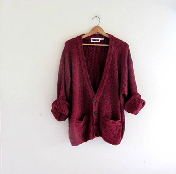 Best 25  Maroon cardigan ideas on Pinterest | Burgundy cardigan ...