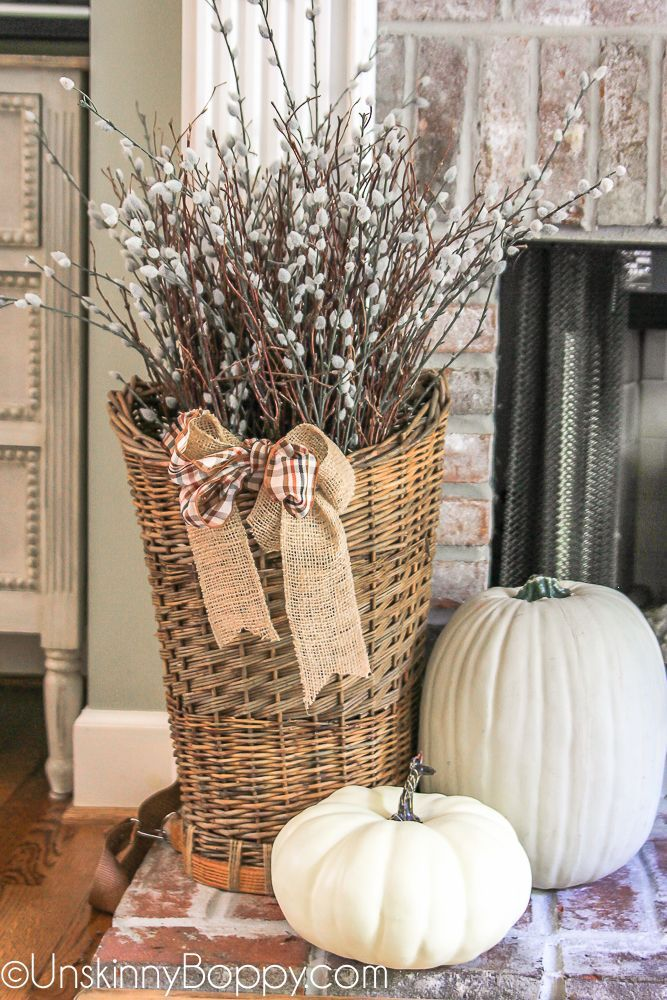 Welcome Fall! Time to Decorate! - Unskinny Boppy