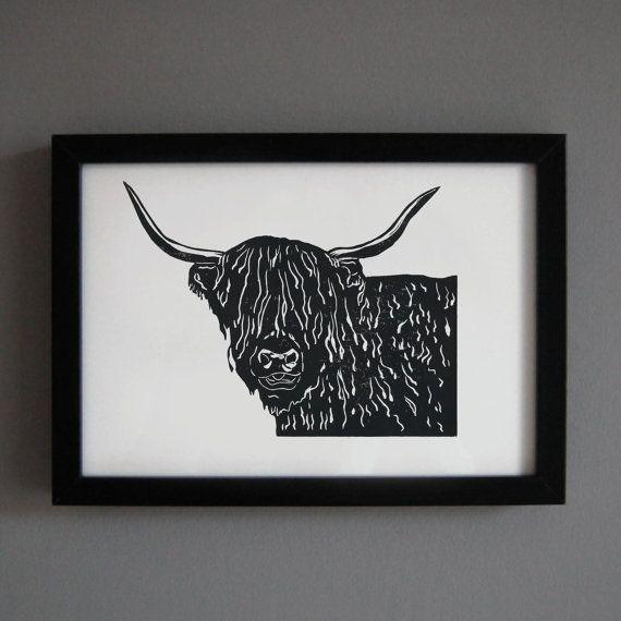 Scottish Themed Tattoos: Best 25+ Highland Cow Print Ideas On Pinterest