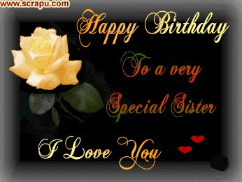 Sister Images For Facebook | Happy Birthday Sister Comments Scraps Facebook Status