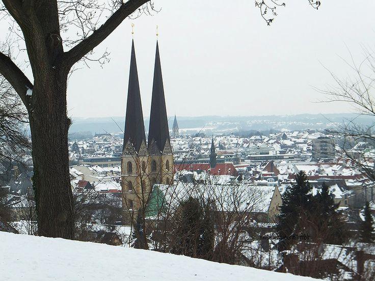 """musikliebhaberin submitted: """" Winter in Bielefeld, Nordrhein-Westfalen """""""