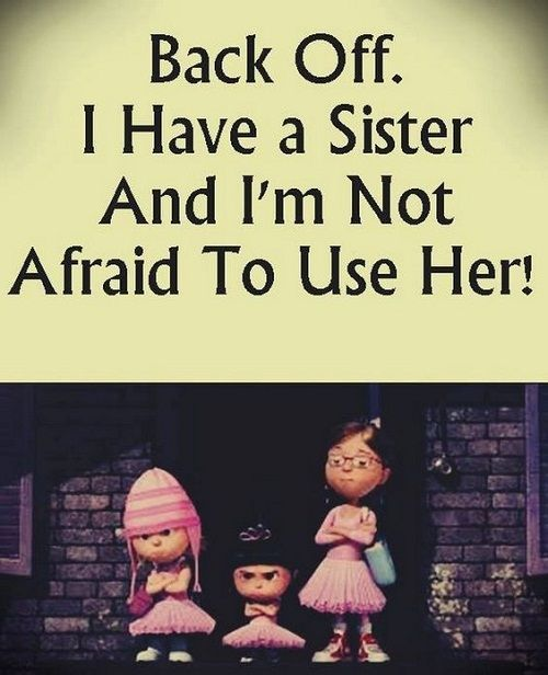 Picture For Brother Sister: 25+ Best Funny Sister Quotes On Pinterest