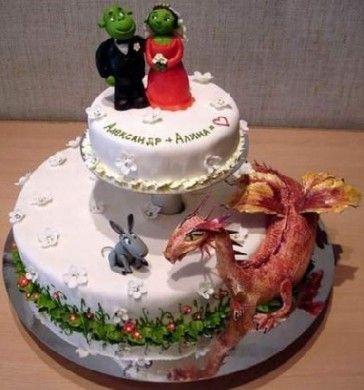 Torta Shrek - http://invitaveritas.altervista.org/torte-strane-e-folli-la-torta-shrek/