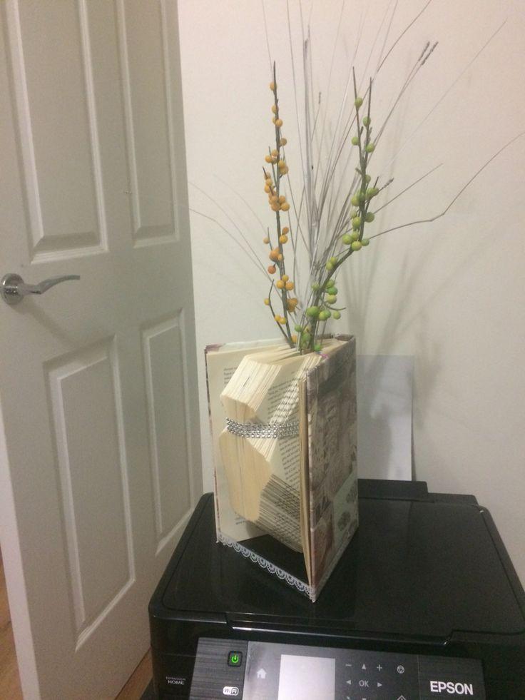 Vase book art