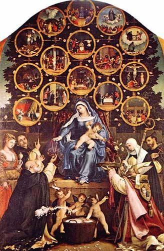 "Praying the 15 Decades of the Rosary. ""There is a temptation to think that after we have confessed our sins and completed the prescribed penance, the slate is wiped completely clean and we can go on with life as if those sins have been entirely taken care of and are part of the past. This is not the attitude of the saints.""  we can always do more"