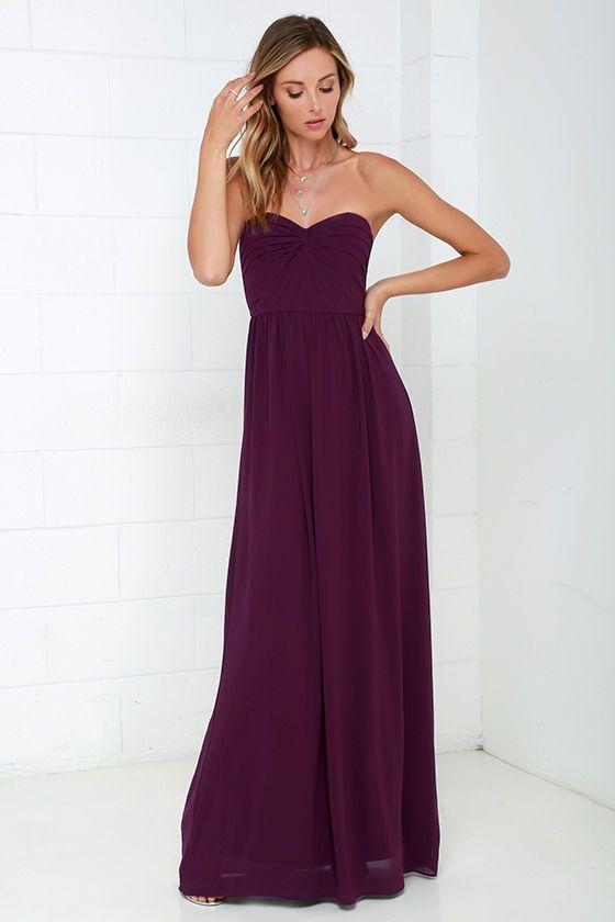 maxi dress purple zucchini