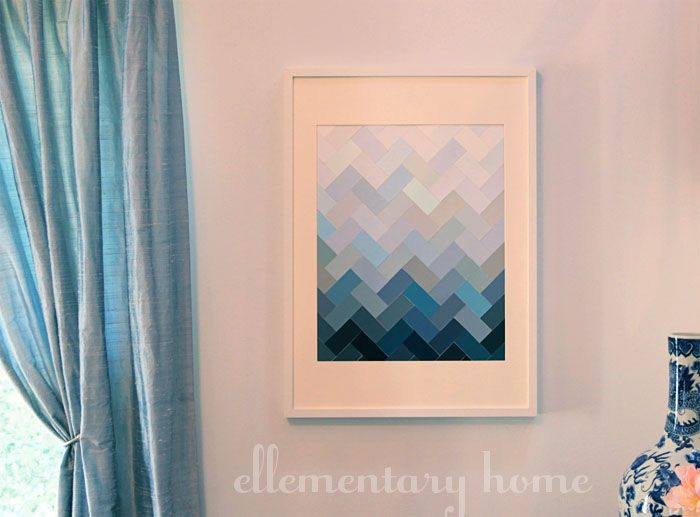 Ellementary Home: In Which I Hop on Three Bandwagons Simultaneously