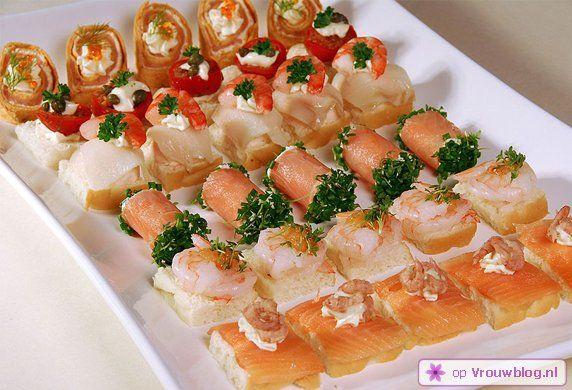 Vis is gezond en vaak gemakkelijk en snel te bereiden. De gezonde hapjes die je hieronder vindt zijn daar een goed voorbeeld van.